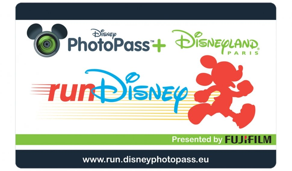 The PhotoPass+ card, which includes the RunDisney race photos and photos taken inside the parks (Photo courtesy of Disney)