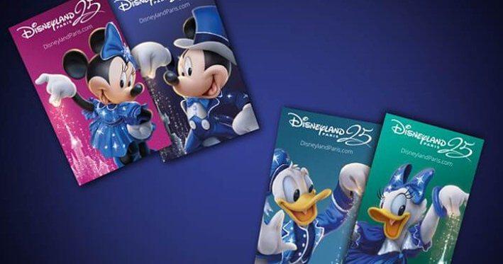 Disneyland Paris 25th anniversary tickets